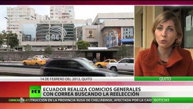 Más de 11 millones de ecuatorianos eligen presidente