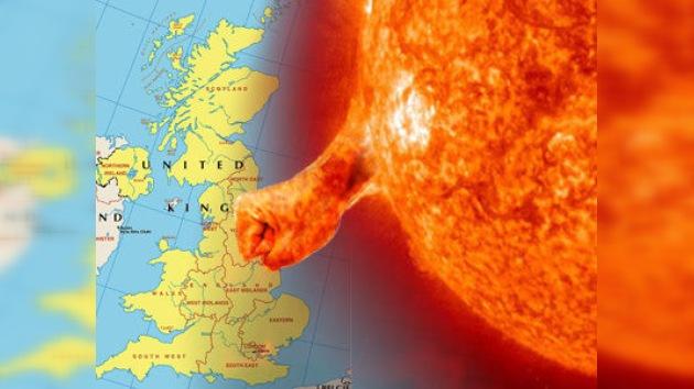Tormentas solares amenazan la seguridad del Reino Unido