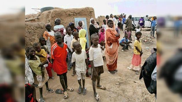 35 000 niños se quedan sin hogar en Sudán