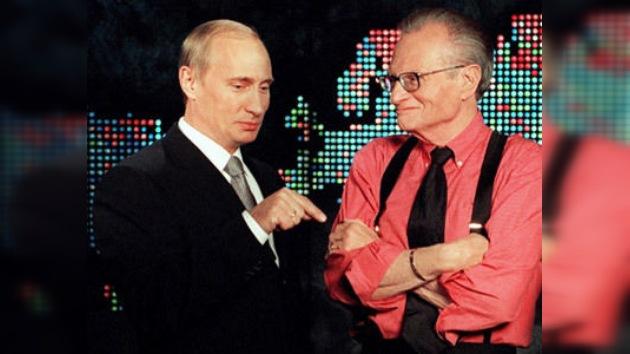 Larry King entrevistará a Putin por segunda vez
