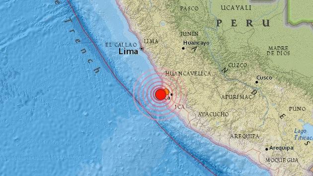 Un terremoto de 6,2 sacude Perú