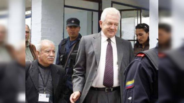 Un ex presidente del Congreso colombiano, condenado a siete años y medio