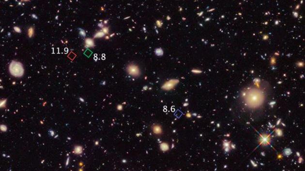 El telescopio Hubble descubre un grupo de 'galaxias ancianas'