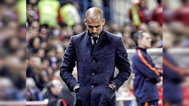 """Guardiola tira la toalla: """"No vamos a ganar la Liga"""""""