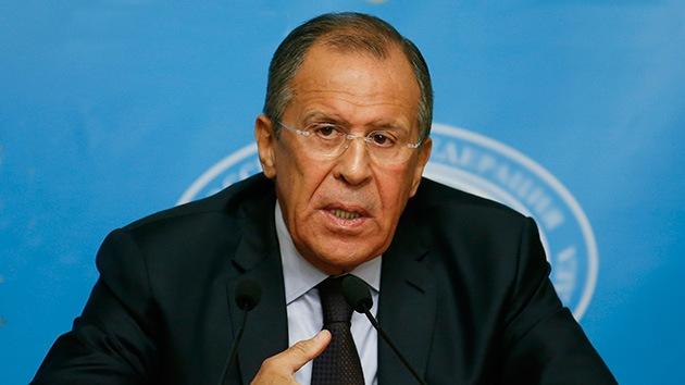 Lavrov: EE.UU. y la UE se caracterizan por ocultar los hechos en Ucrania