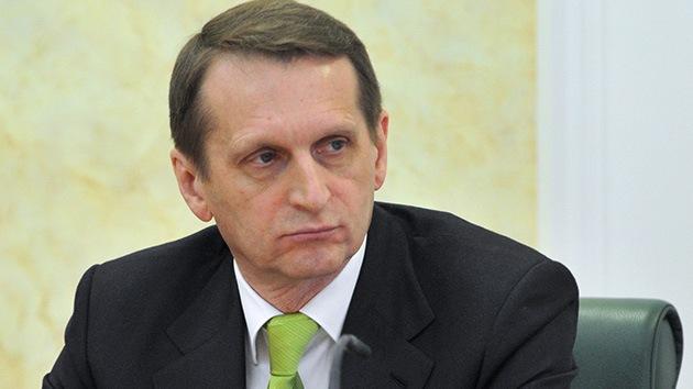 Jefe de la Duma: El presidente ilegítimo de Ucrania será un criminal de guerra si usa fuerza