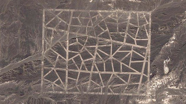 Mapas do Google revelam estruturas mais misteriosas na China