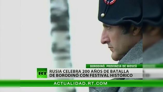 Bicentenario de la victoria la Guerra Patriótica: Se revive la batalla de Borodinó