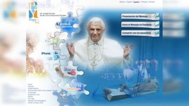 Benedicto XVI llama al clero a usar Internet