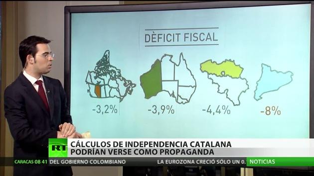 Cálculos de la independencia catalana podrían verse como propaganda