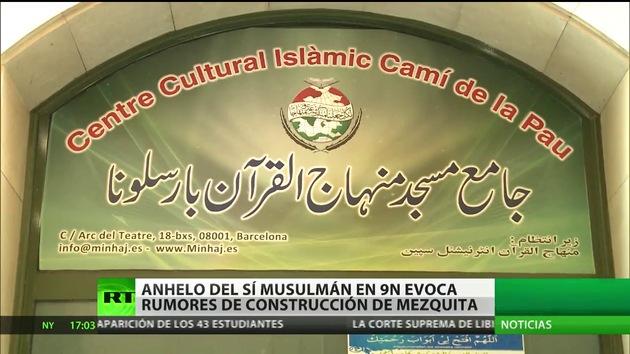 Cataluña niega que se erigirá una mezquita si musulmanes apoyan la consulta del 9-N