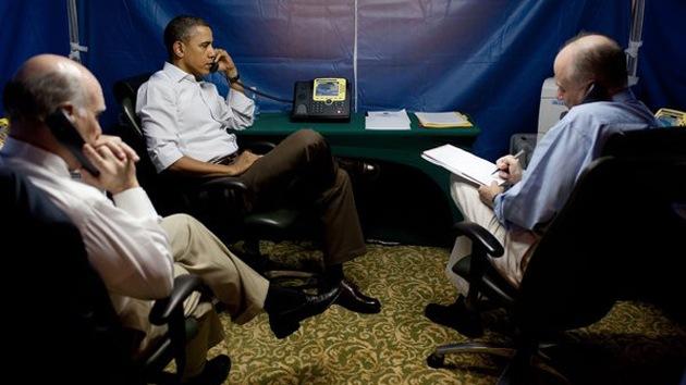 El escudo de Obama contra los espías: una carpa a prueba de escuchas