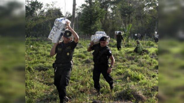 Guatemala acusa a EE. UU. de ejercer presión para evitar la despenalización de las drogas