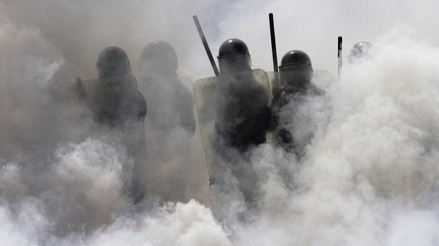 Fotos, video: Fuertes enfrentamientos en México entre policías y estudiantes de la UNAM