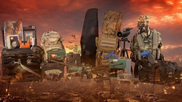 ¡Zombis, tiemblen!: a la venta un equipo para combatir a los muertos vivientes