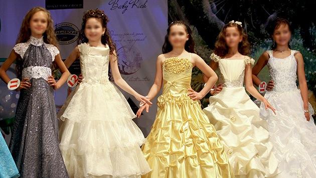 Rusia estudia limitar la participación de menores de edad en concursos de belleza