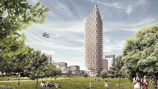 Fotos: Suecia levantará el rascacielos de madera más alto