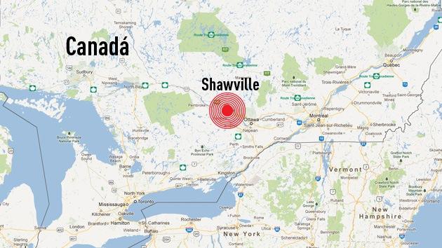Un sismo de magnitud 4,4 sacude Canadá