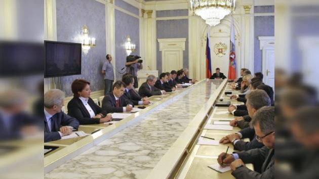 Medvédev plantea nuevos objetivos presupuestarios