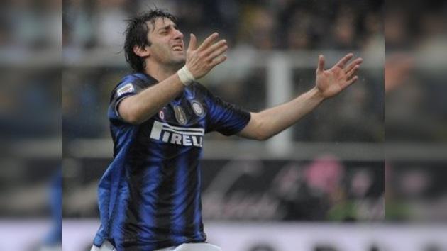 Diego Milito, el 'peor' jugador del año 2011 en la liga italiana
