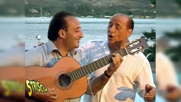 Los juicios y la crisis retrasan el lanzamiento del disco de Berlusconi
