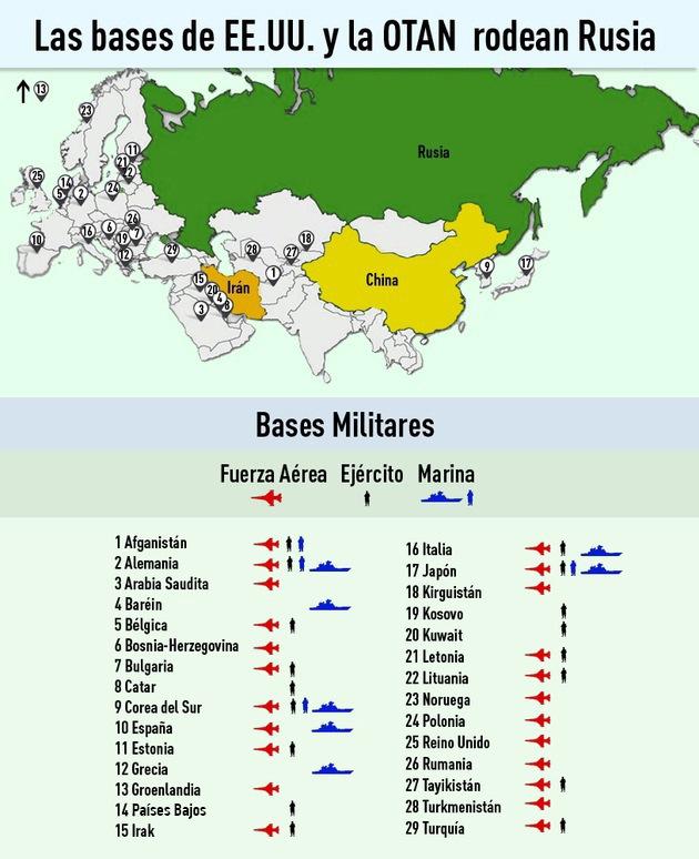 5b36a29225387f69cdc0365ea5ed20d8 article630bw - Los cinco lugares donde podría estallar la Tercera Guerra Mundial