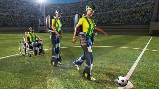 Un joven discapacitado con un exoesqueleto robótico iniciará el Mundial de Fútbol