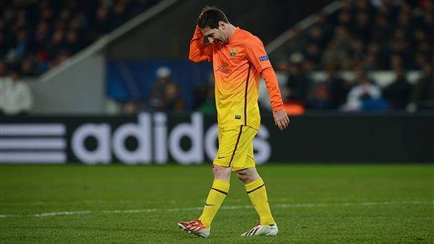 Video: Messi pierde un duelo a penaltis contra 'una máquina' de portero