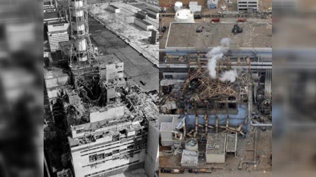 El desastre de Chernóbyl cumplió un cuarto de siglo; el de Fukushima un mes y medio