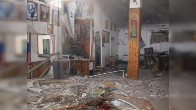 En Ucrania se busca a los autores de un atentado en una iglesia