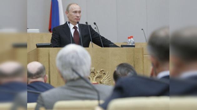 Putin presenta el resumen de la gestión del Gobierno del año 2010