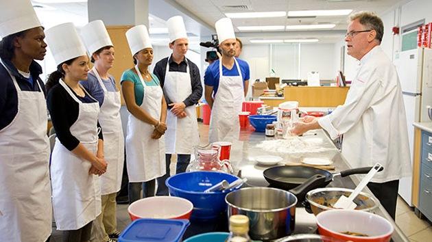 Elegido el equipo de futuros 'cocineros marcianos'