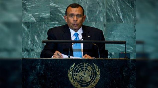 Mandatario hondureño ratifica apoyo al reconocimiento del Estado palestino