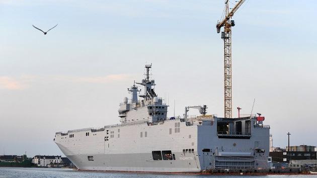 """Astilleros navales de Rusia: """"Somos capaces de diseñar nuestro propio Mistral"""""""