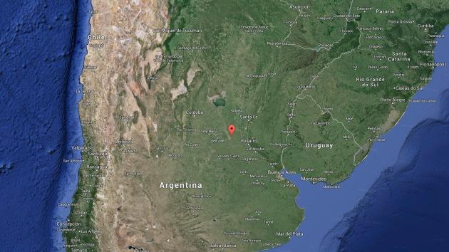 La caída de un meteorito provoca un fuerte temblor en Argentina