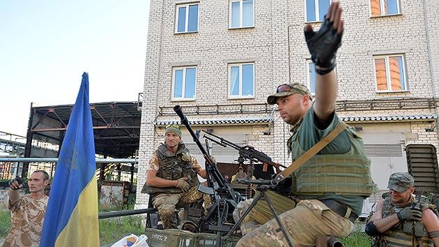 Kiev empieza a preparar guerrilleros