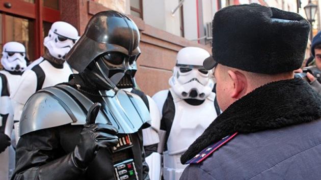 'Darth Vader' aspira a la Presidencia de Ucrania