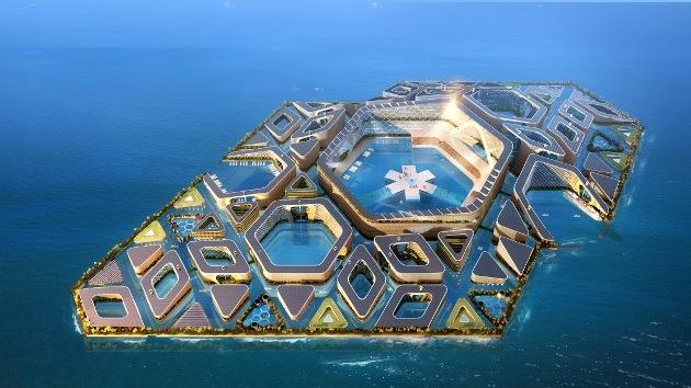 Fotos: Esta es la futurística ciudad flotante que podría construir China