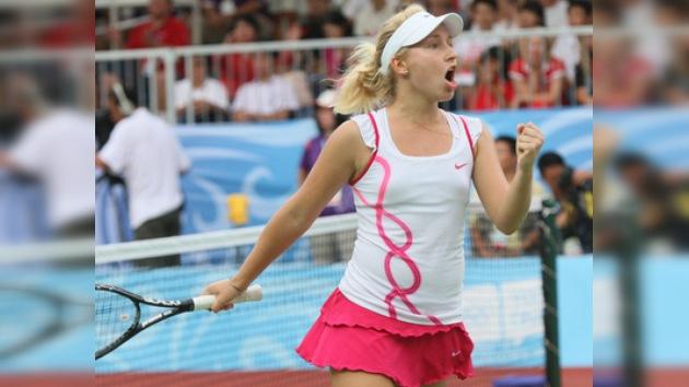 Daria Gavrílova, campeona de tenis en los JJ. OO. de la Juventud