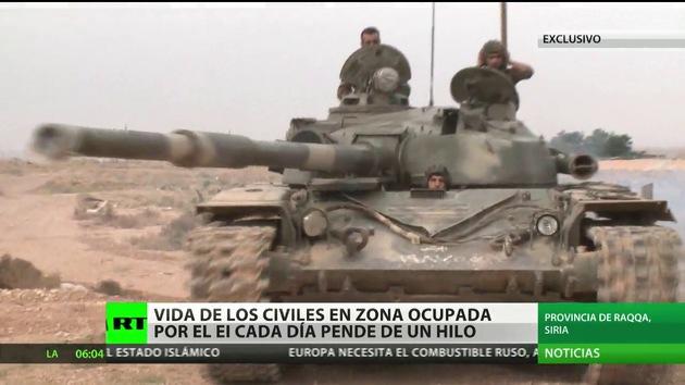 Reportaje exclusivo de RT desde Raqqa, un infierno creado por el Estado Islámico