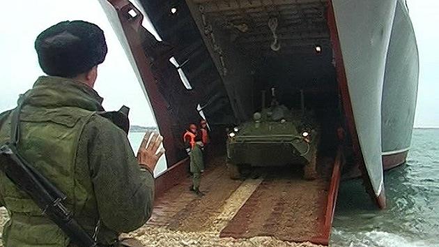 Rusia inicia ejercicios militares a gran escala en el mar Negro