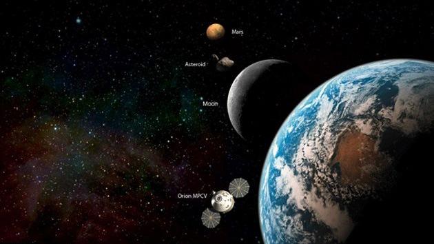 La NASA planea construir una base cerca de la Luna como una escala hacia Marte