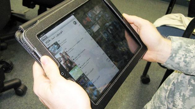 iPhone y iPad, nuevos dispositivos de EE.UU. para la guerra
