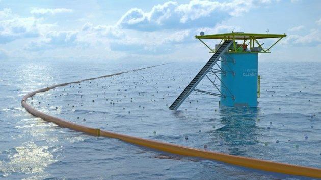 Video: Un joven de 19 años presenta un proyecto revolucionario para limpiar los océanos