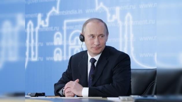 Cibernautas indios entrevistan a Vladímir Putin