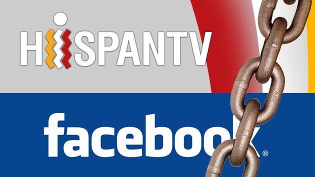 Facebook bloquea la página de la televisión estatal iraní en español