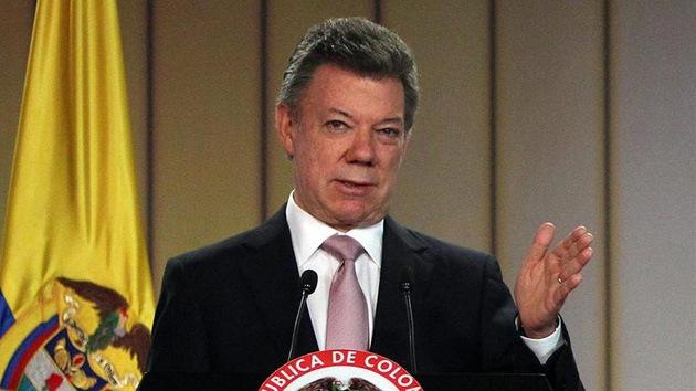 """Presidente colombiano ve """"descabellado"""" que su Gobierno conspire contra Venezuela"""