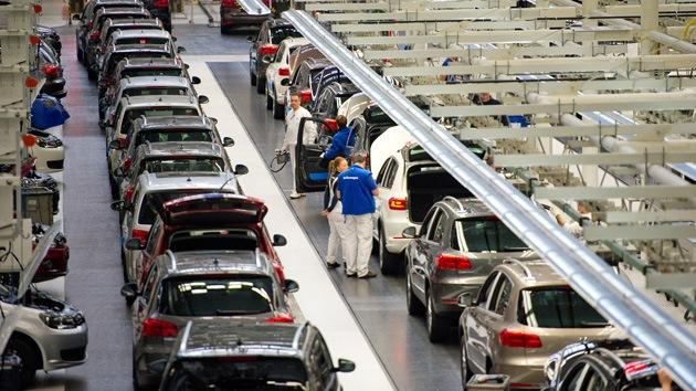 """El sector industrial de la zona euro ha entrado en una """"nueva recesión"""""""