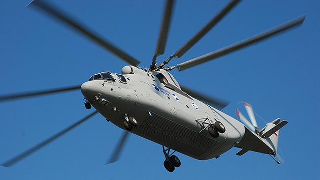 Rusia entrega a China el helicóptero con mayor capacidad de carga útil del mundo