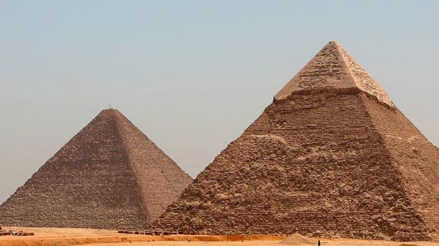 Así podrían haberse construido las pirámides de Egipto